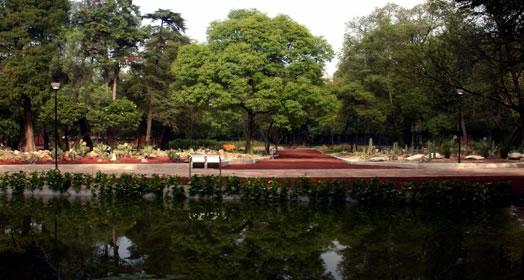 Orquidario for Jardin botanico horario